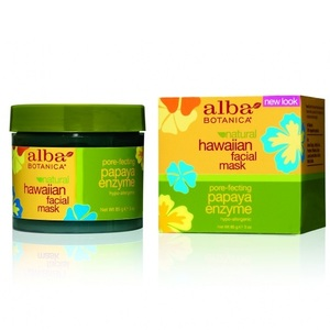Alba Botanica Энзимная маска для лица Папайя Papaya Enzyme Facial Mask 85г банка
