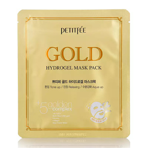 Petitfee Маска для лица гидрогелевая Gold Hydrogel Mask Pack 1 шт.