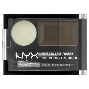 NYX Professional Makeup Тени для бровей. EYEBROW CAKE POWDER