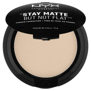 NYX Professional Makeup Тональная основа-пудра. STAY MATTE BUT NOT FLAT POWDER FOUNDATION