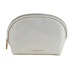 WANDERLUST Косметичка Wanderlust Saffiano small Cream