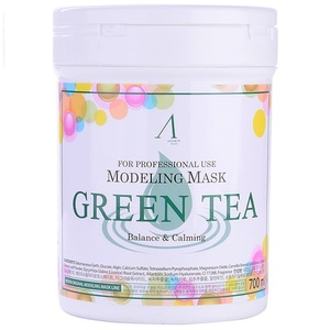 Anskin Grean Tea Modeling Mask  container
