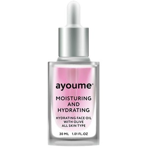 Ayoume Moisturing And Hydrating Face Oil With Olive