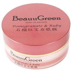 BeauuGreen Pomegranate And Ruby Hydrogel Eye Patch