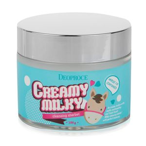 Deoproce Creamy Milky Cleansing Sherbet