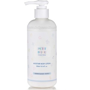 Etude House Petit bijou cotton snow moisture body lotion