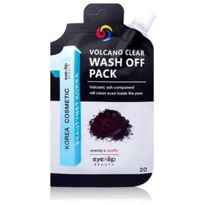 Eyenlip Pocket Pouch Line Volcano Clear Wash Off Pack