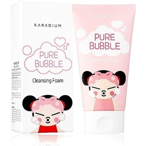 Karadium Pure Bubble Cleansing Foam Pucca Edition