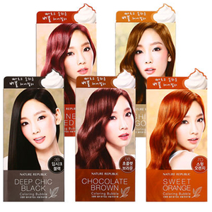 Nature Republic Hair and Nature Coloring Bubble