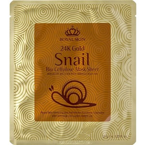 Royal Skin K Gold Snail Bio Cellulose Mask Sheet