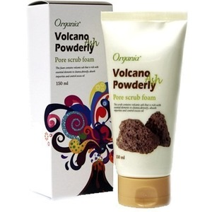 White Cospharm Volcano Powderly Pore Foam Cleansing