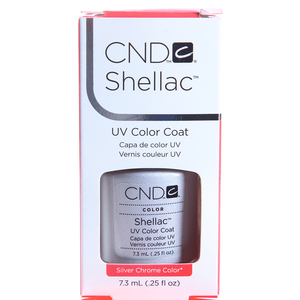 CND 032 покрытие гелевое / Silver Chrome SHELLAC 7,3 мл