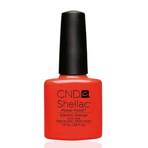 CND 90514 покрытие гелевое / Electric Orange SHELLAC 7,3 мл