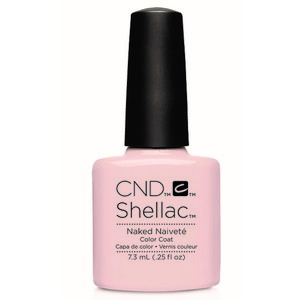 CND 90857 покрытие гелевое / Naked Naivete SHELLAC Contradictions 7,3 мл