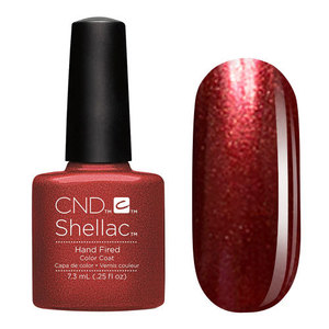 CND 91252 покрытие гелевое / Hand Fired SHELLAC 7,3 мл