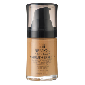 REVLON Крем тональный 008 / Photoready Airbrush Effect Makeup Golden beige